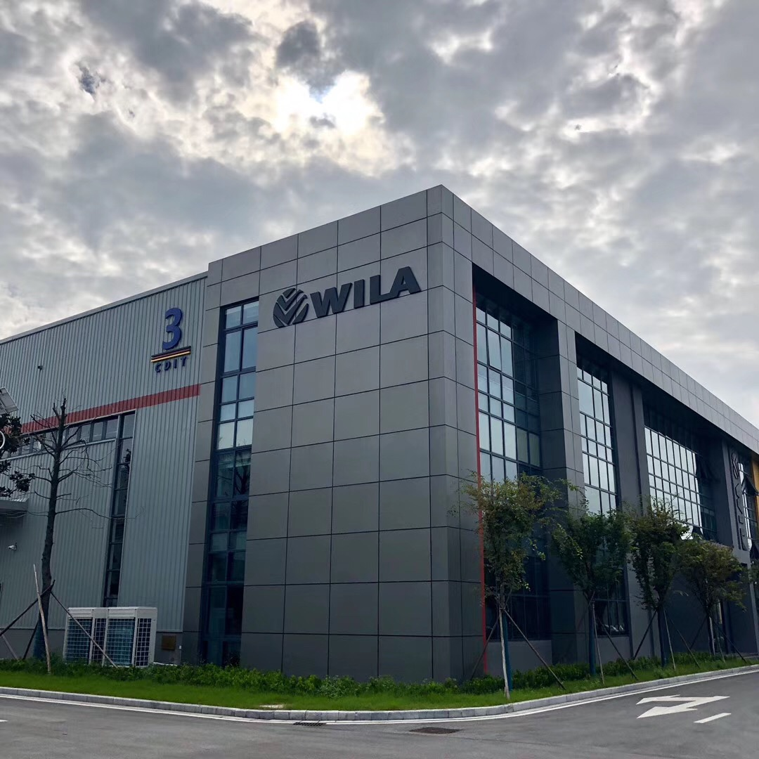 New factory and office for WILA China